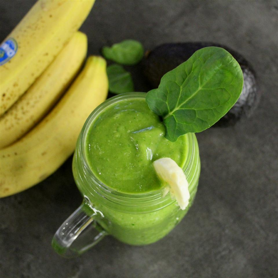 Green Smoothie with Maca Powder Alli Shircliff