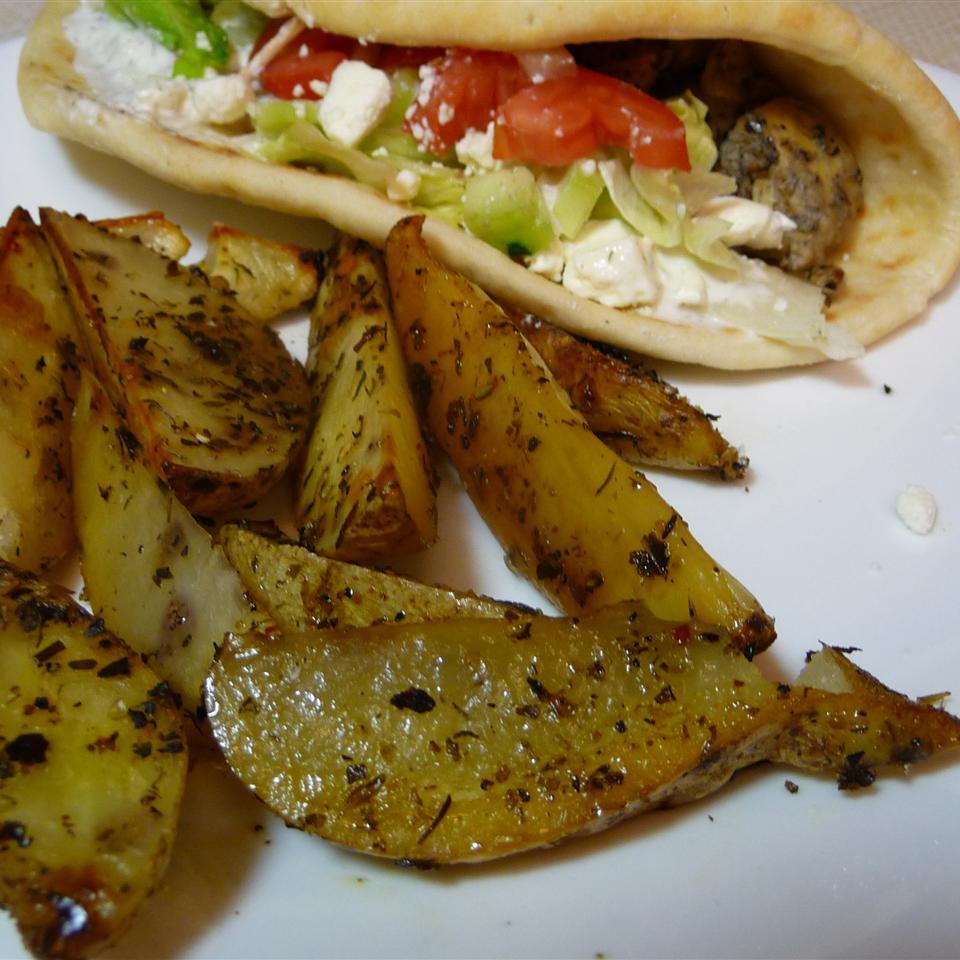 Greek-Style Potatoes