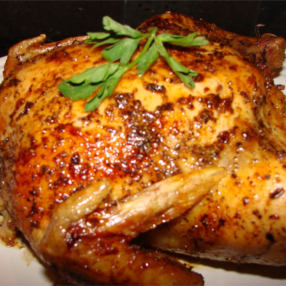 Caribbean-Spiced Roast Chicken Recipe