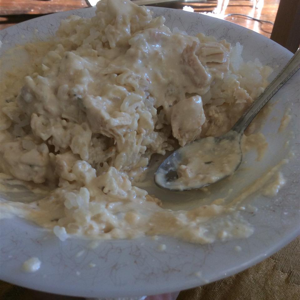 Creamy Slow Cooker Chicken