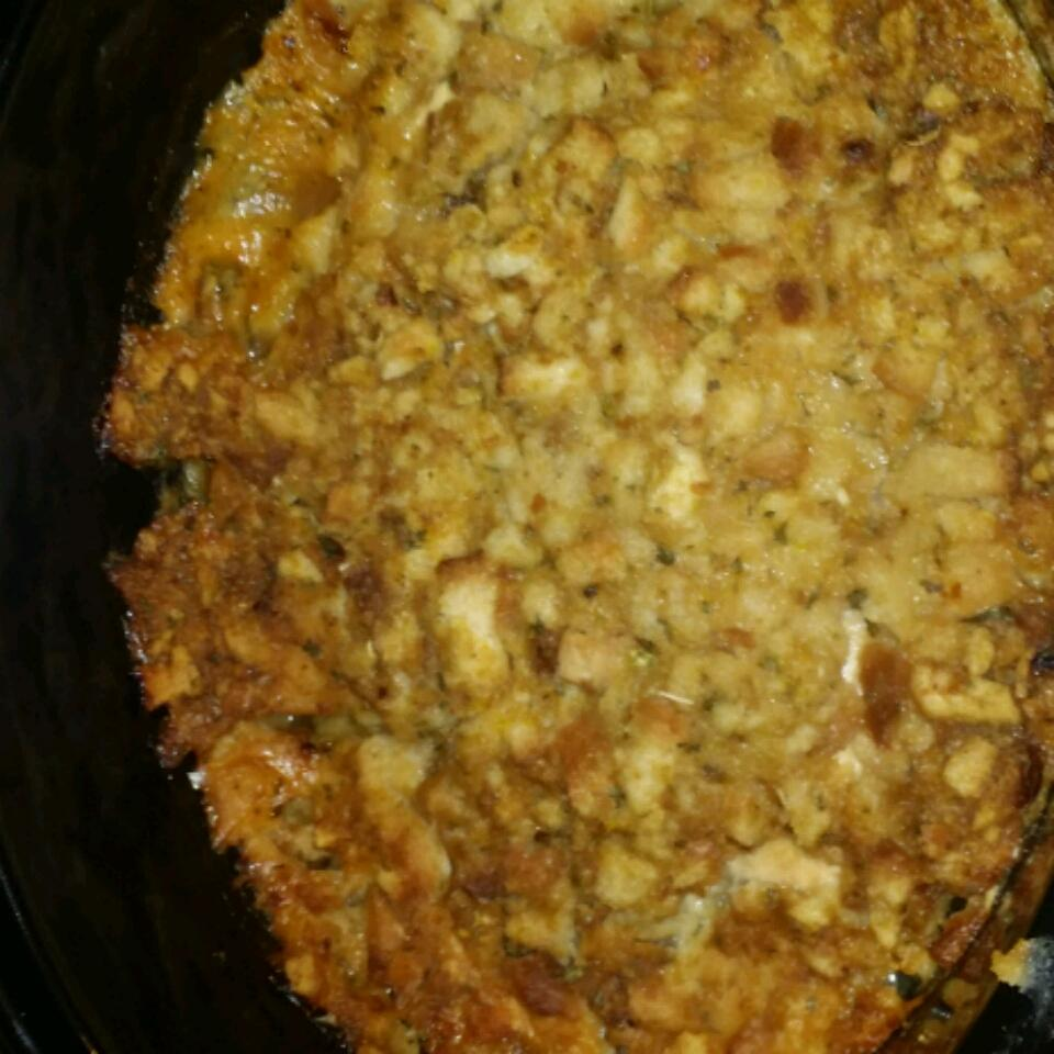 Slow Cooker Chicken with Stuffing