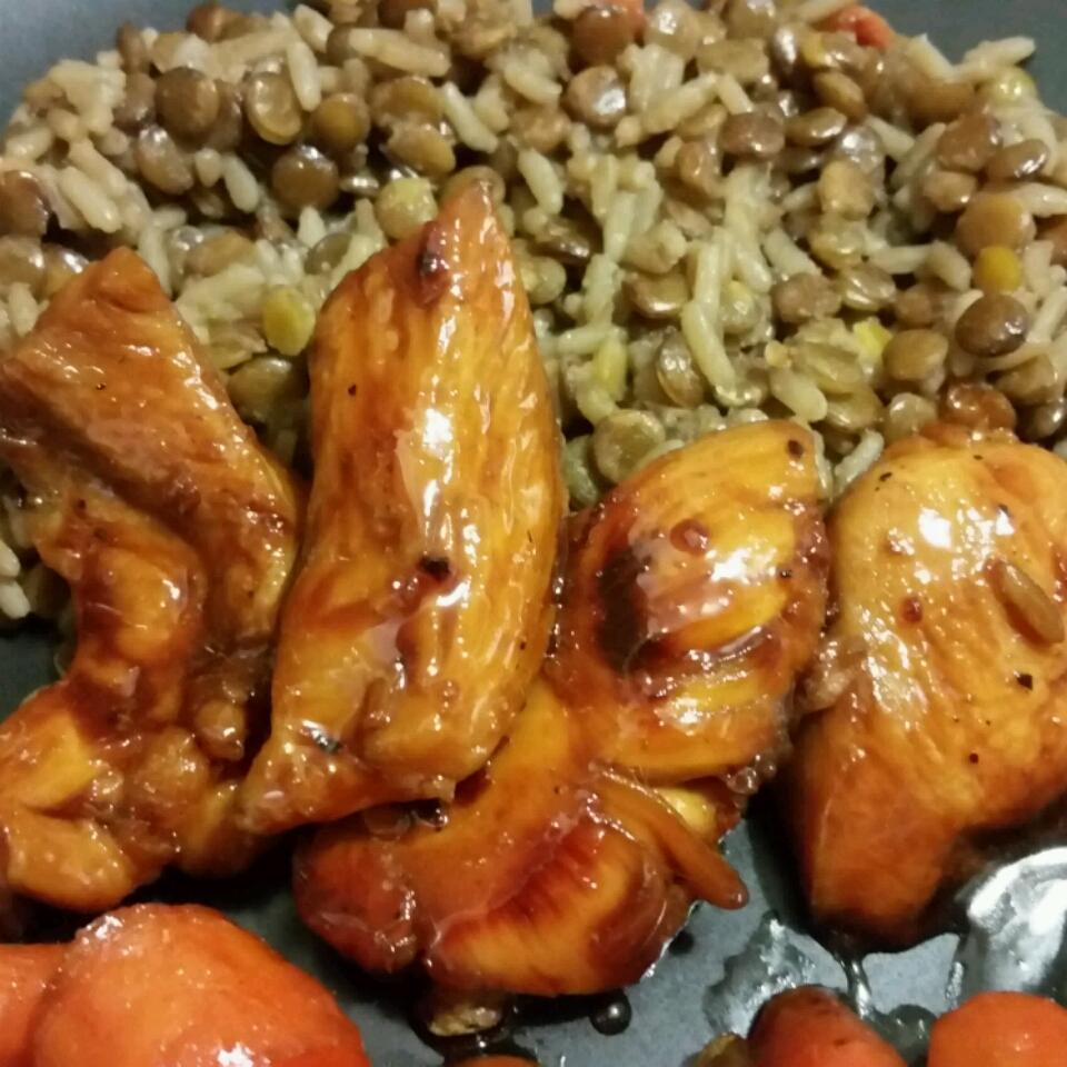 Honey Glazed Chicken Tucker McCullough