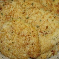 Savory Rice Pancakes rebeqah