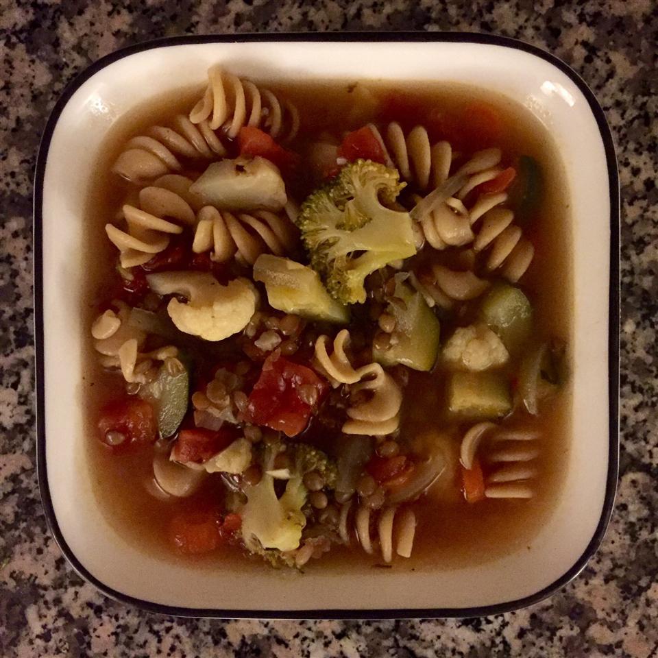 Zucchini Tomato Soup II