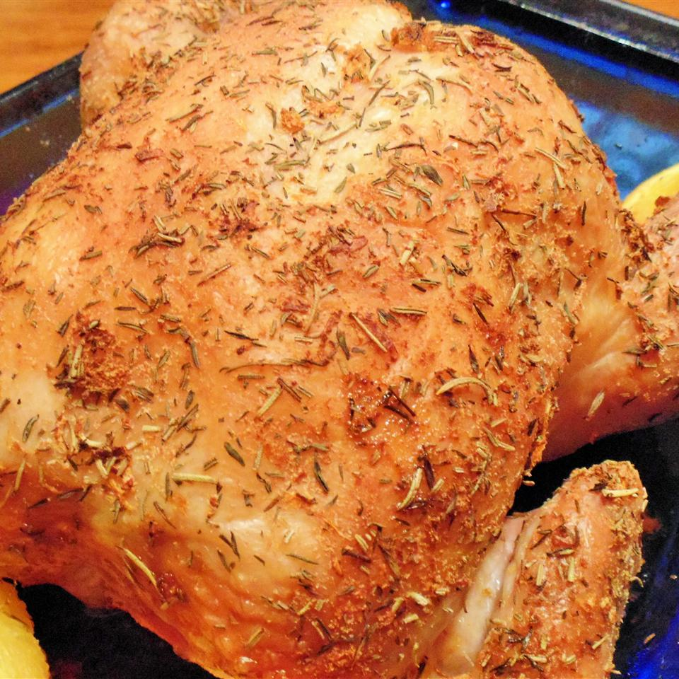 Dry Brined Roasted Chicken Anonymous