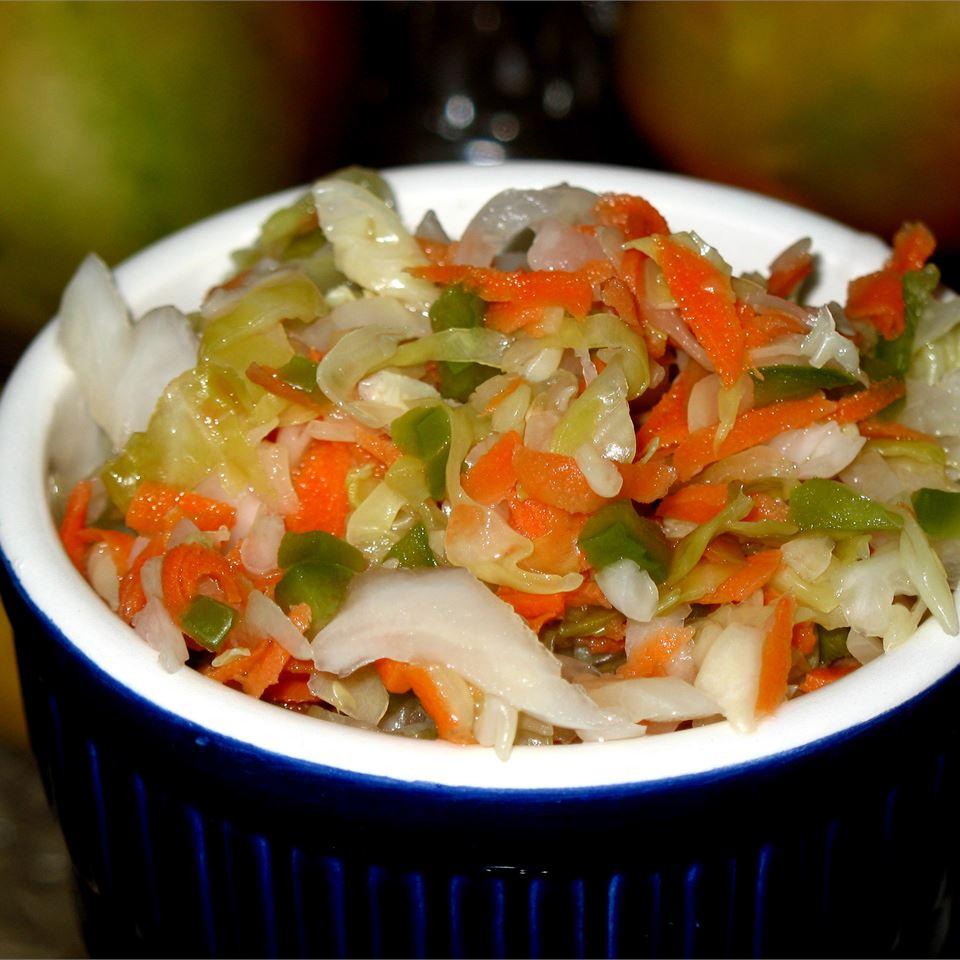 Curtido (El Salvadoran Cabbage Salad) image