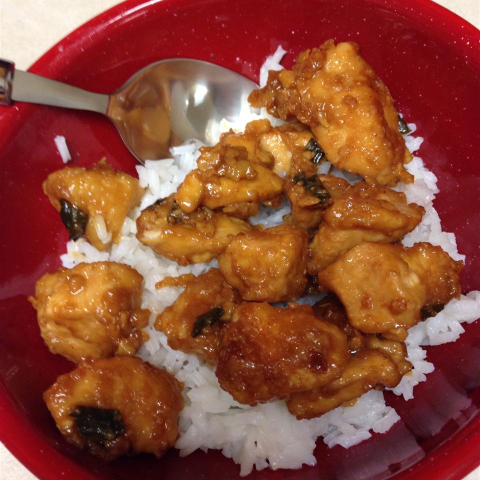 Ten Minute Szechuan Chicken Jessica