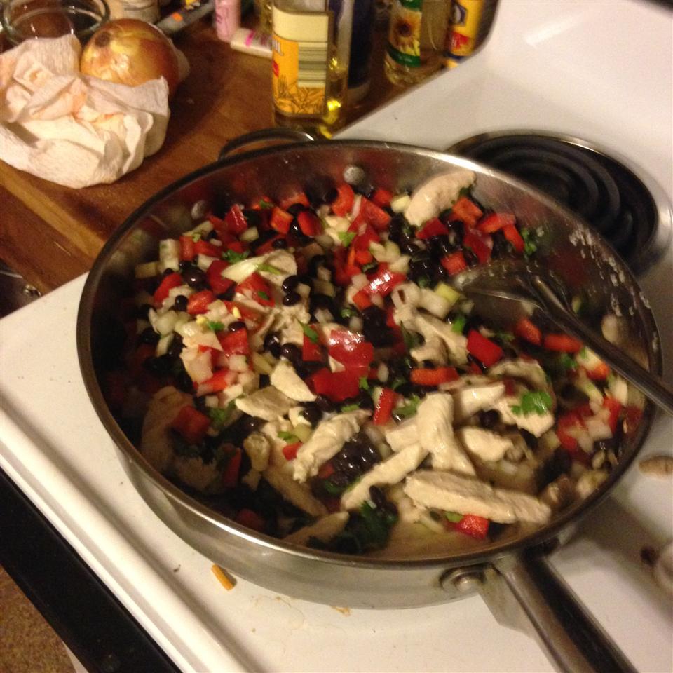 Garlic Chicken Tacos kidraven