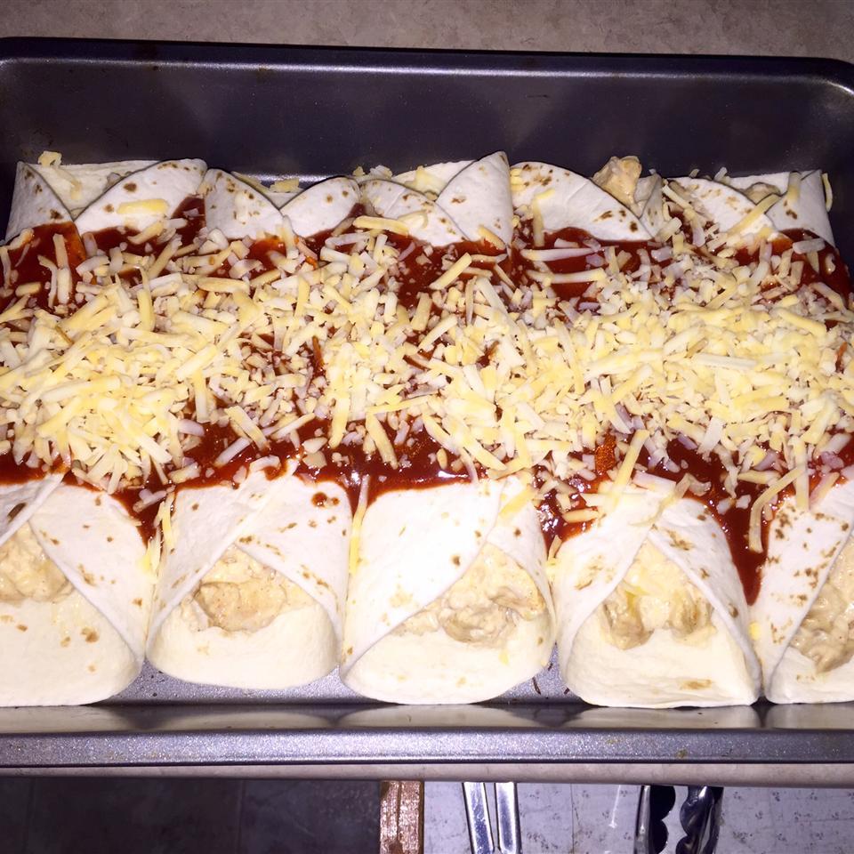 Mild Cheesy Chicken Enchiladas HeatherSmith79