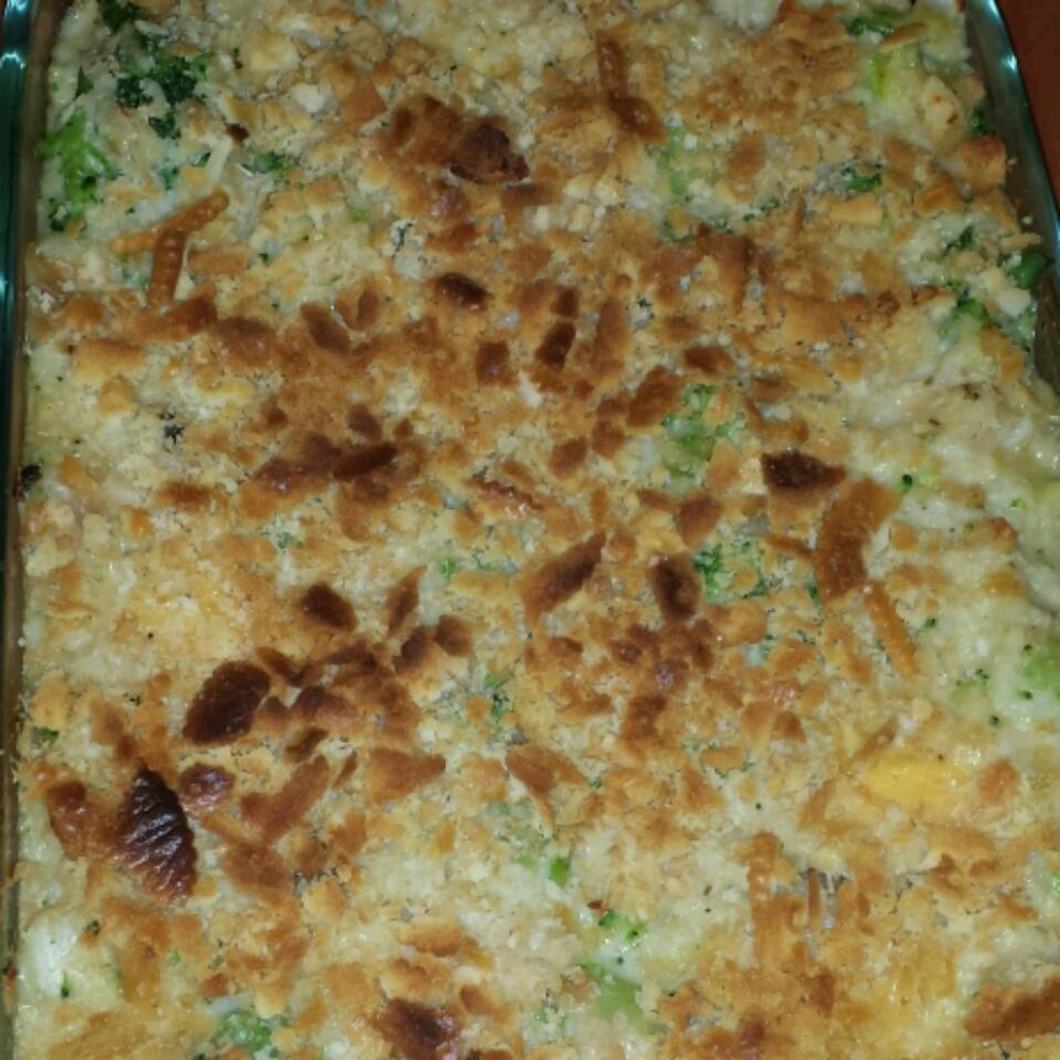 Broccoli, Rice, Cheese, and Chicken Casserole judy