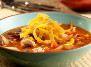 Spicy Mexican Tortilla Soup