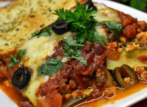 Zucchini Lasagna With Beef and Sausage