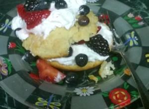 Summer Fruit Shortcakes