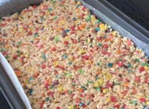 Funfetti(R) Cake Batter Rice Krispies(R) Treats