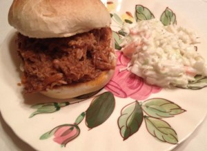 Slow Cooked Barbeque Pulled Pork