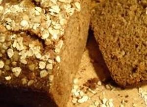 Apple Cinnamon Oatmeal Bread