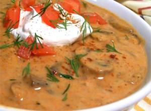 Geneva's Ultimate Hungarian Mushroom Soup