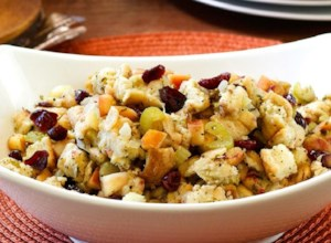 Slow Cooker Cranberry Apple Stuffing