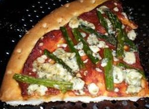 Blue Cheese and Asparagus Pizza