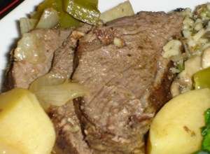Garlic Top Sirloin Pot Roast