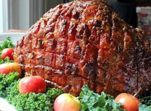 Chef John's Honey-Glazed Ham
