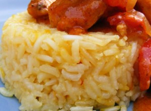 Indian Saffron Rice