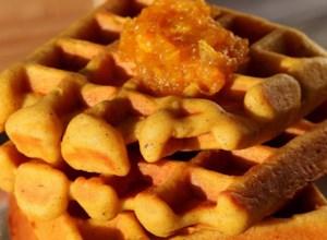 Perfect Gluten-Free Pumpkin Waffles