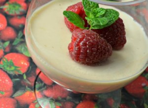 Panna Cotta with Strawberry Jam