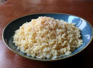 Savory Coconut Rice