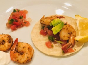 Spicy Shrimp Tacos with Avocado