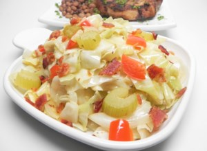 Southern Smothered Cabbage