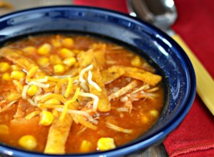 Instant Pot(R) Chicken and Tortilla Soup