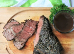 Sous Vide Blade Roast with Au Jus