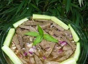 Bob's Thai Beef Salad