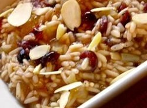 Cranberry and Almond Rice Pilaf