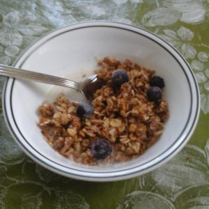 Breakfast cereal recipes allrecipes easy cranberry granola recipe this easy and delicious granola is better than store bought ccuart Gallery