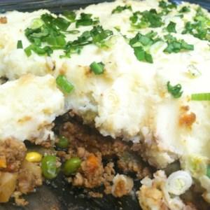 Traditional Style Vegan Shepherd's Pie