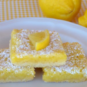 The Best Lemon Bars Recipe and Video - These tart, rich lemon bars need just seven common ingredients you probably already have, and are done in 55 minutes!