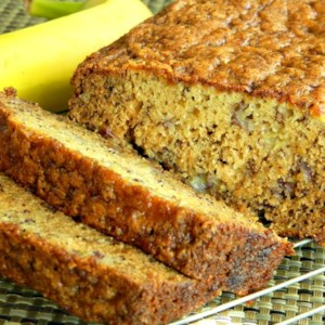 Joy's Easy Banana Bread Recipe and Video - This easy banana bread recipe is quick to prepare, and everyone always comes back for seconds!