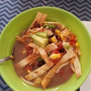 Six Can Chicken Tortilla Soup