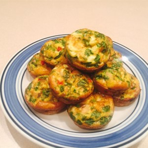 Pancake poppers recipe allrecipes breakfast egg muffins ccuart Images