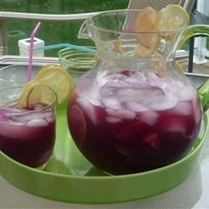 sheilas perfect sangria recipe this tropical tasting sangria is enhanced with cointreau coconut - Christmas Punch Recipes With Alcohol