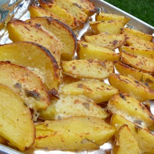 Best Potatoes You'll Ever Taste Recipe and Video - A simple mayonnaise blend will transform your grilled potatoes into a flavorful cookout sensation!