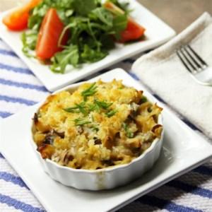 Tuna Noodle Casserole from Scratch