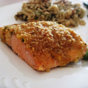 Baked Salmon Fillets Dijon