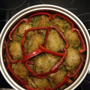 Peruvian recipes allrecipes peruvian arroz con pollo recipe a peruvian version of arroz con pollo this chicken forumfinder Images