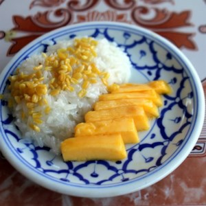 Thai dessert recipes allrecipes refined sugar free mango sticky rice recipe medjool dates take the place of refined forumfinder Image collections