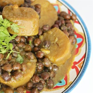 Black Chana with Potato