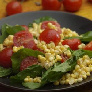 Corn, Arugula & Tomato Salad