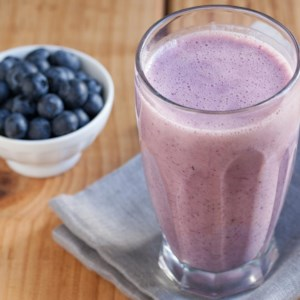 Blueberry-Banana Smoothie (Batido)
